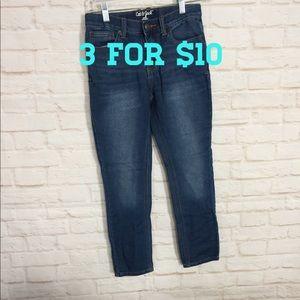 Cat&Jack medium wash skinny jeans 10